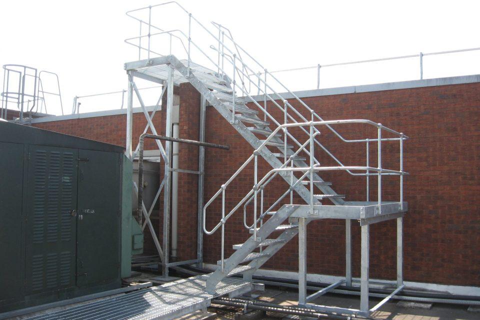 Asda Tilbury Staircase