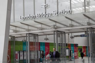 Entrance of London Bridge