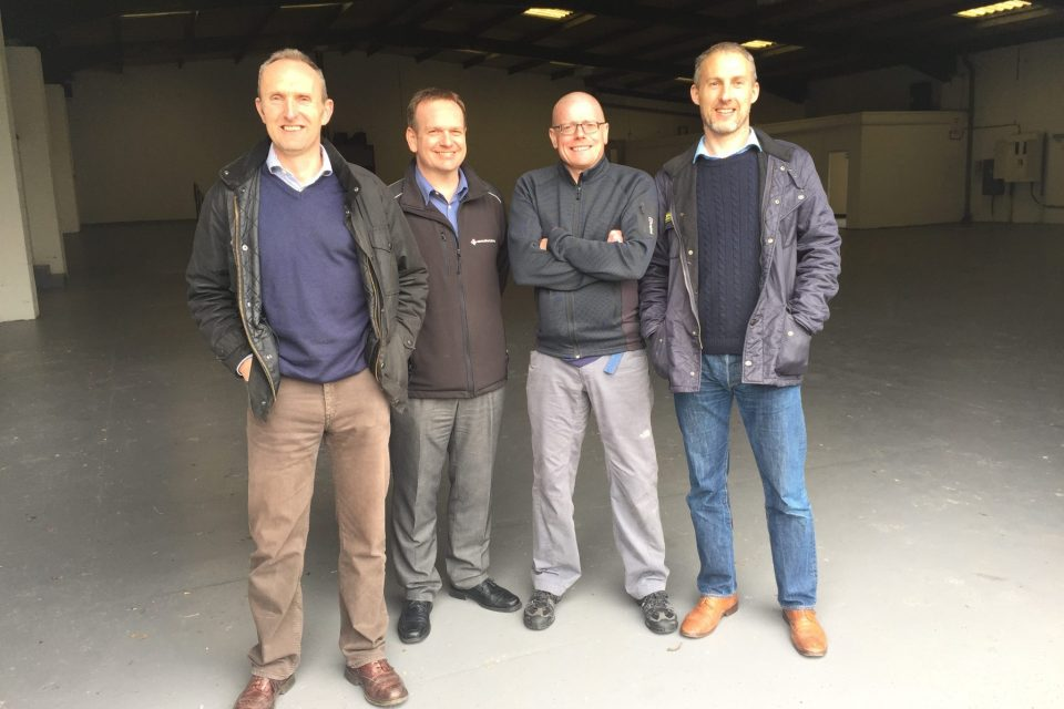 New offices, Directors, Ian, John, Martin, Gavin, New building, we are moving, Eurosafe Solutions, Expanding,